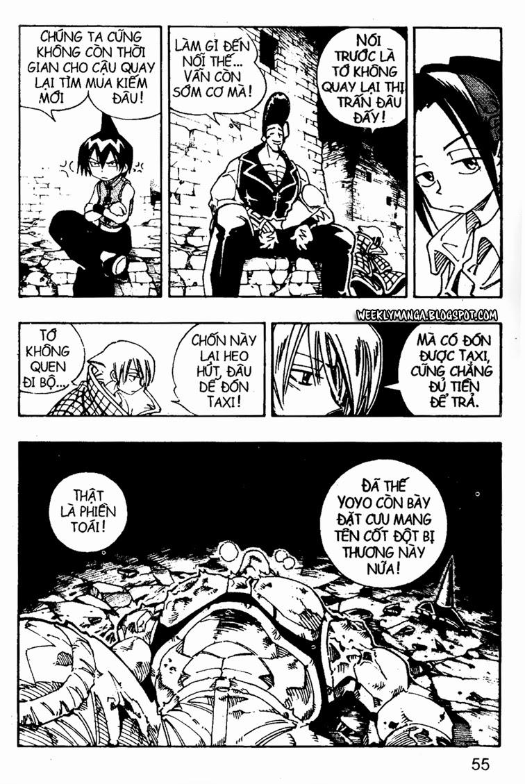 Shaman King [Vua pháp thuật] chap 106 trang 16