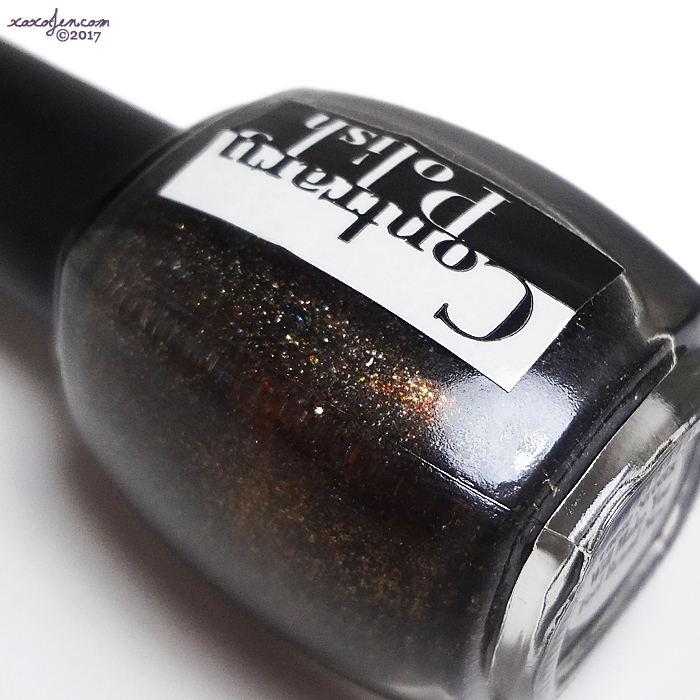 xoxoJen's swatch of Contrary Polish These Streets Will Make You Feel Brand New