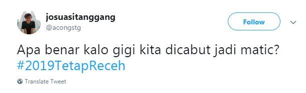 12 Cuitan '2019 Tetap Receh' Ini Emang Receh Banget Sih!