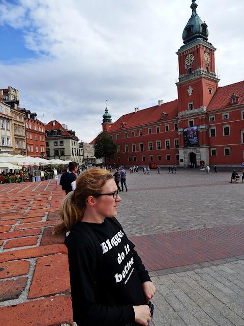 centrum Warszawy starówka i Zamek Królewski