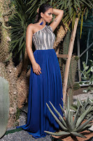 Rochie de seara eleganta tip one shoulder
