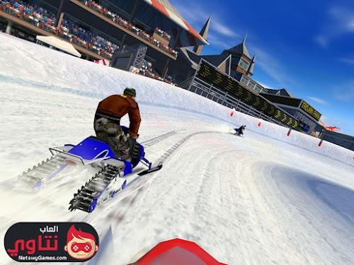 تحميل لعبة موتوسيكلات على الجليد للكمبيوتر - Download Snow Cross برابط مباشر
