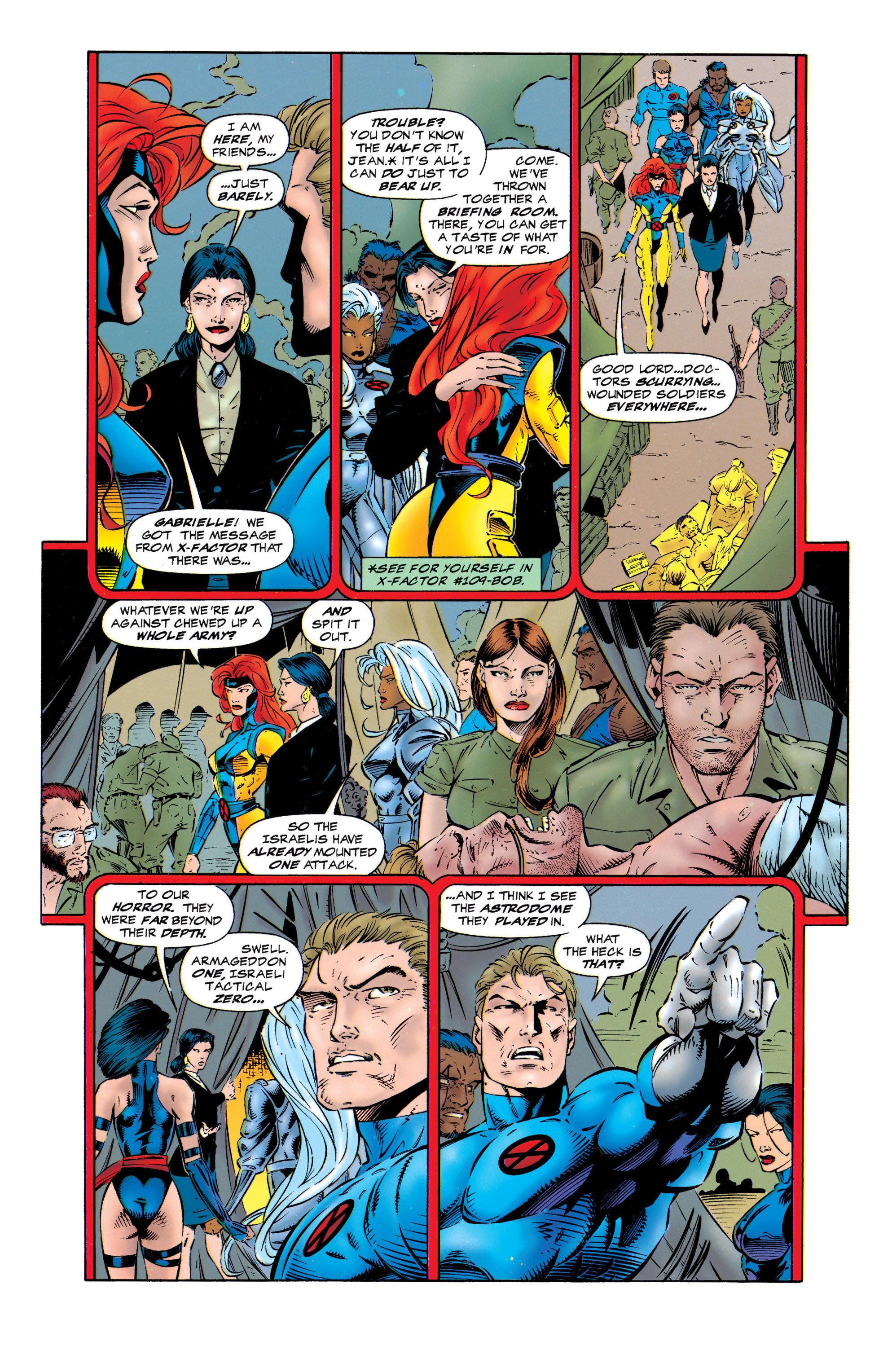 Read online Uncanny X-Men (1963) comic -  Issue #320 - 6