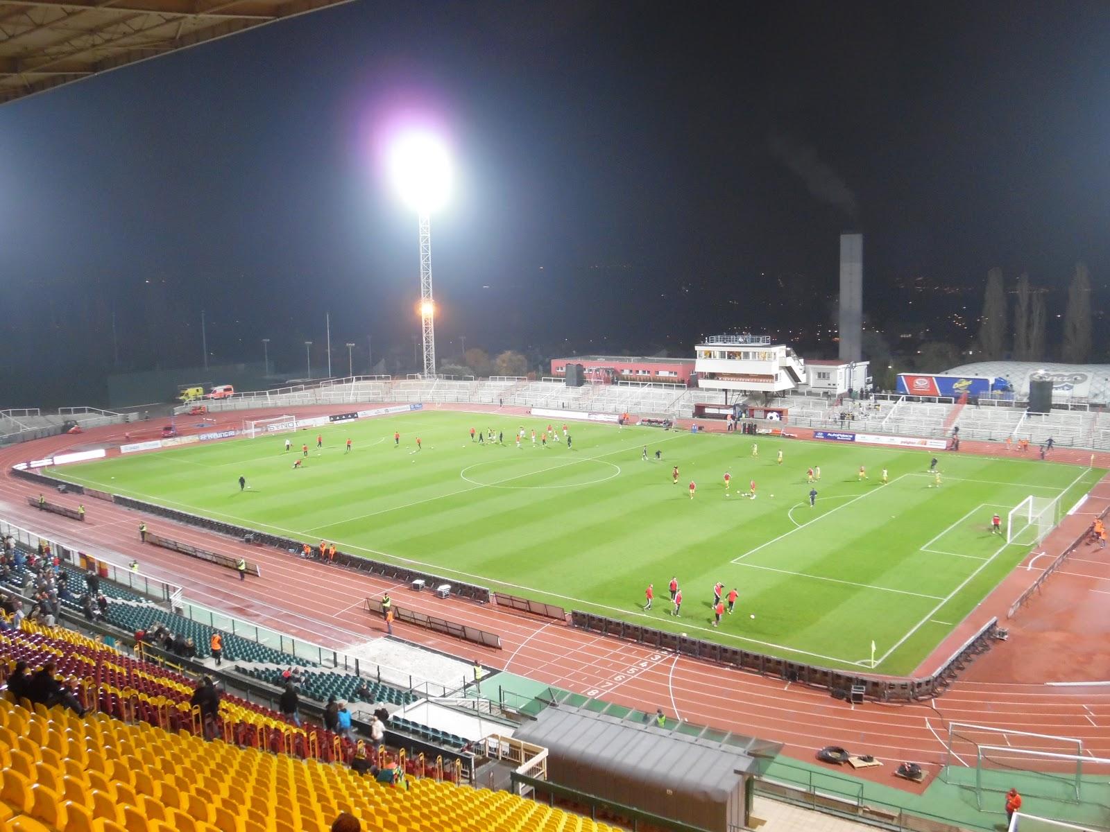 Fotbal Slavia Pinterest: Damage In The Box!: FK DUKLA PRAGUE (Stadion Juliska