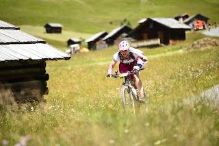 Bikerennen zum Spaß mtb