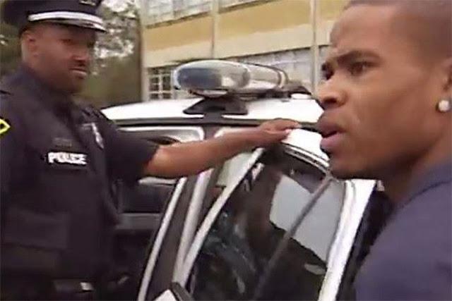 foto polisi sesaat sebelum dia tewas terbunuh