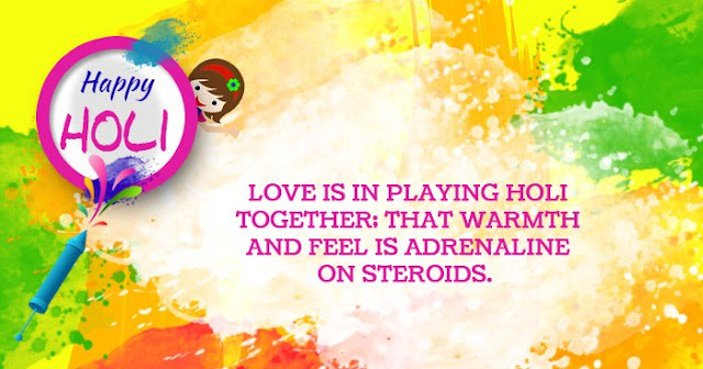 Happy Holi Quotes In English