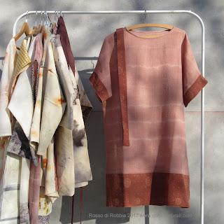 ecoprint ecoprinting abbigliamento