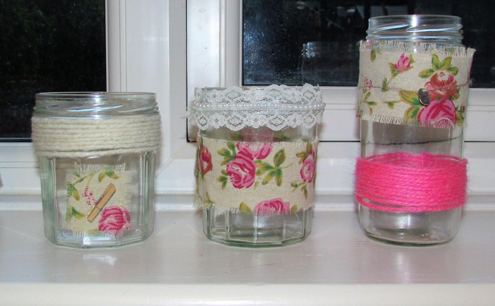 lollipop pretty decorated jars