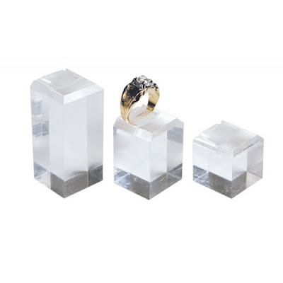 Shop Nile Corp Wholesale Acrylic Ring Square Display Set
