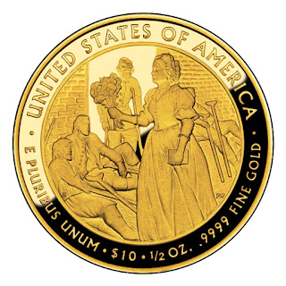 United States Gold Coins Mary Todd Lincoln 2010 10 Dollars First Spouse Gold Coin