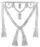 Marie Antoinette, kraliyet kuyumcusu tarafından kendisi için yapılan muhteşem bir elmas gerdanlık