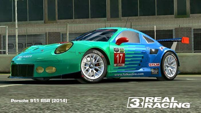 Real Racing 3 Skin 2014porsche911rsr Pack Porsche 911 Rsr By