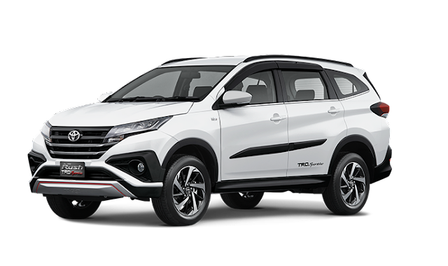 Toyota All New Rush Jakarta