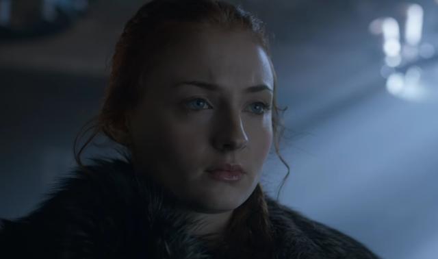Game of thrones season 6 image of sansa stark