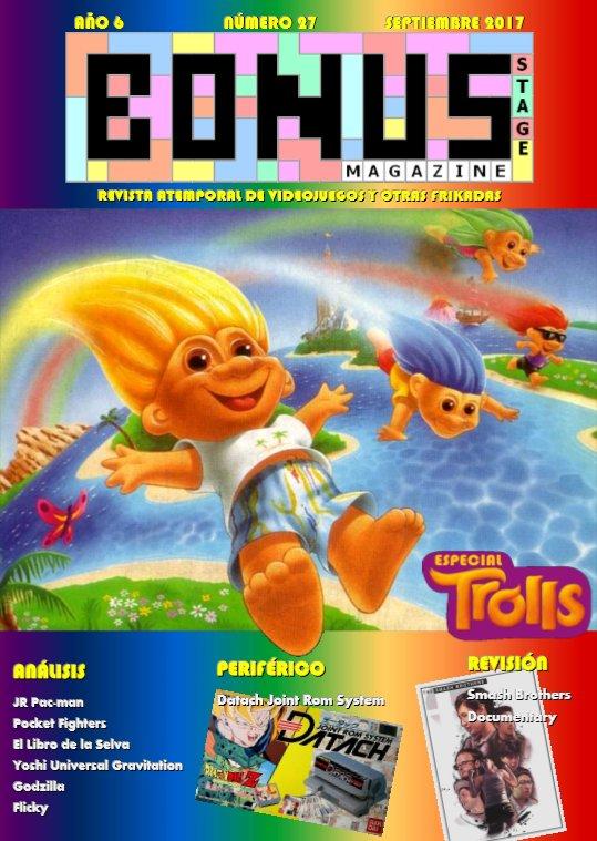 Bonus Stage Magazine #27 Especial Trolls (27)