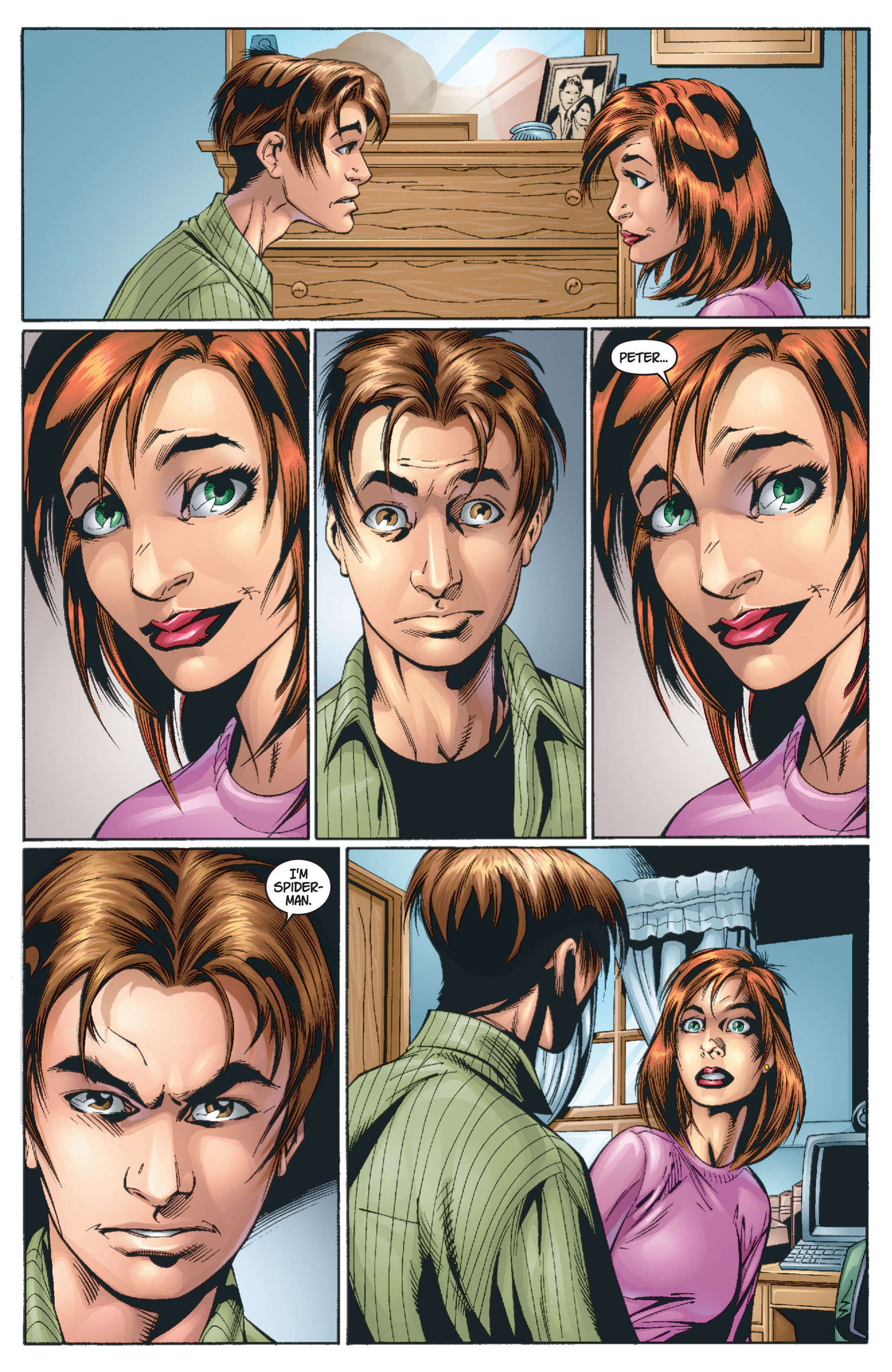 Read online Ultimate Spider-Man (2000) comic -  Issue #13 - 5