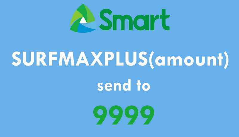 Smart Internet SurfMaxPlus 50 1-day, 299 7-days and 995 for 1-Month