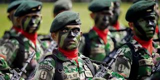 Prajurit Batalyon Raider 111/Karma Bhakti, Aceh.