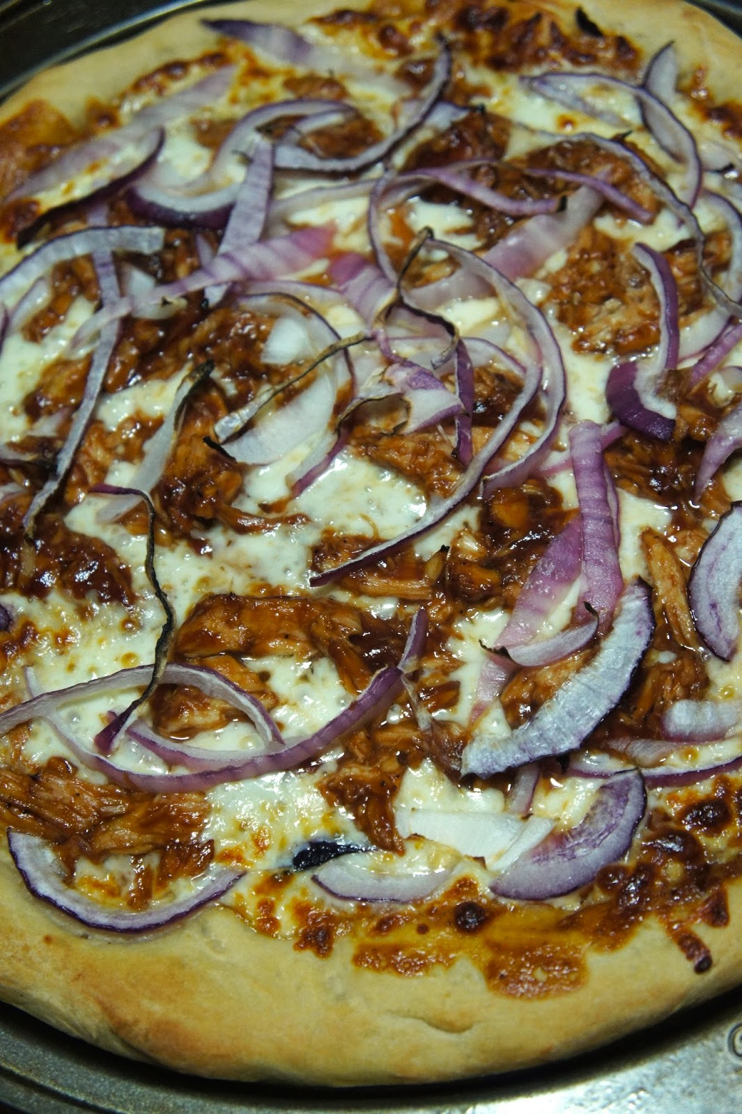 California Pizza Kitchen BBQ Chicken Pizza Copycat: Savory Sweet and Satisfying