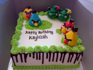cake tema angry bird