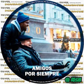 GALLETAAMIGOS POR SIEMPRE - THE UPSIDE - 2018 [COVER DVD]