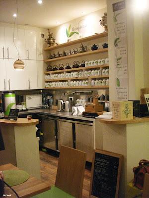salon de thé La maison de thé George Cannon