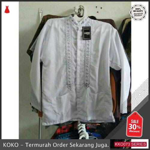 KKO73 ANK321 Baju Taqwa Model Atasan Dewasa Murah BMGShop