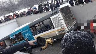 4 Pejalan Kaki Tewas Ditabrak Bus di Moskow