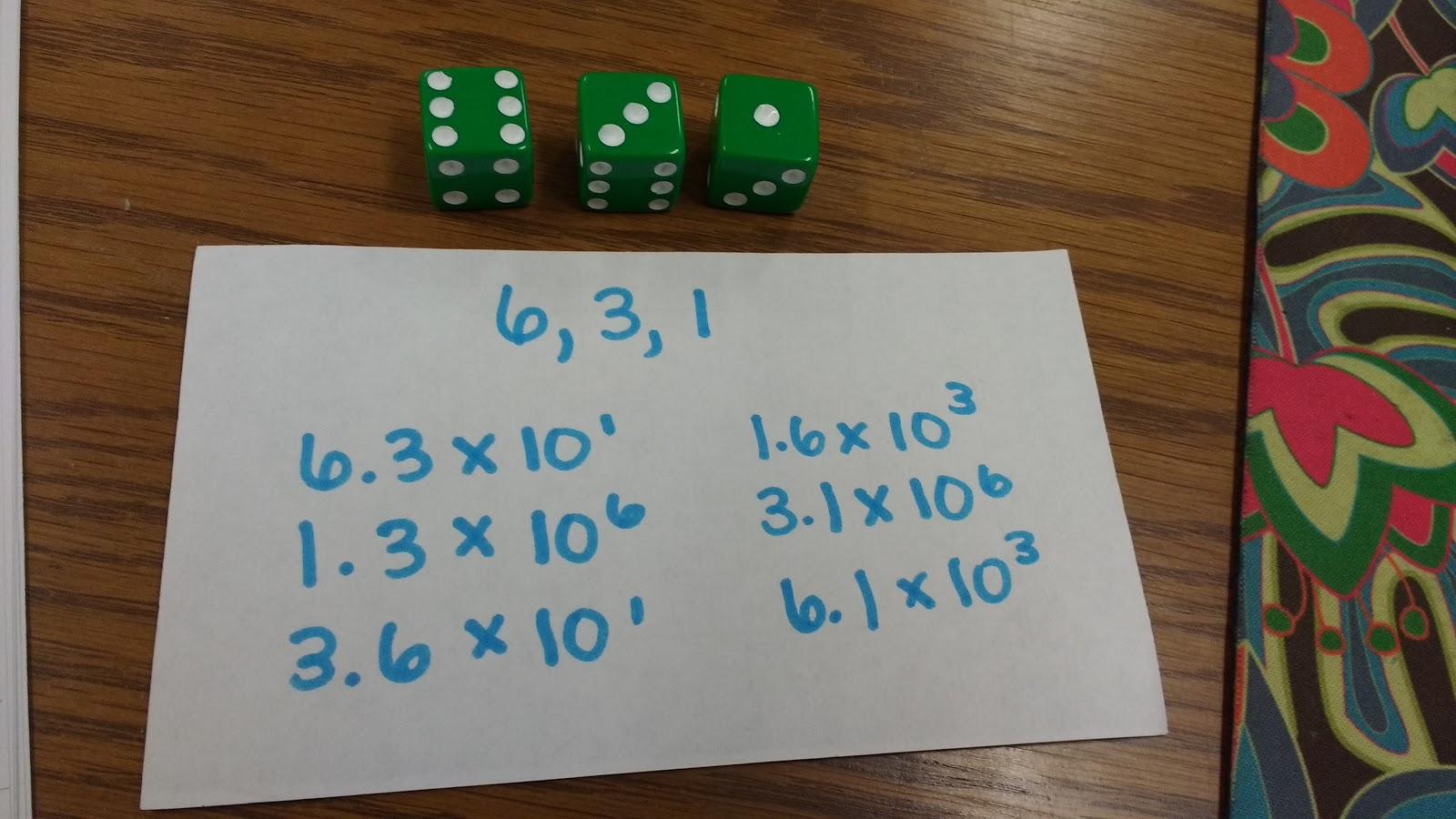 Math = Love: Scientific Notation Practice Activities