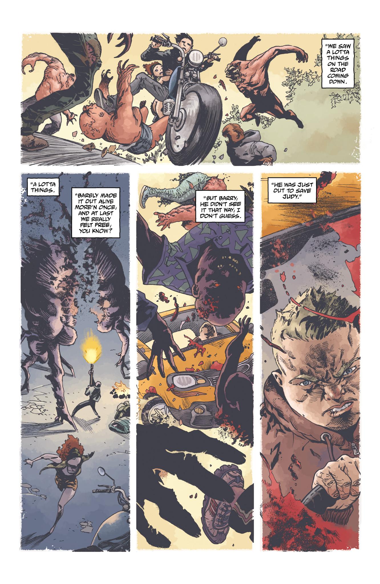 Read online Abe Sapien comic -  Issue #4 - 18