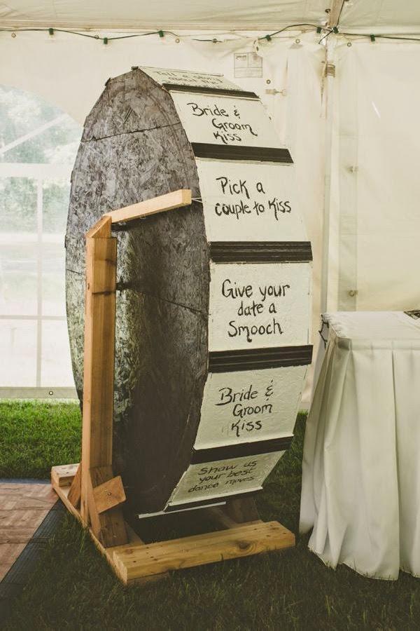 21 Insanely Fun Wedding Ideas Showcase A Full Size Price Is Right Wheel
