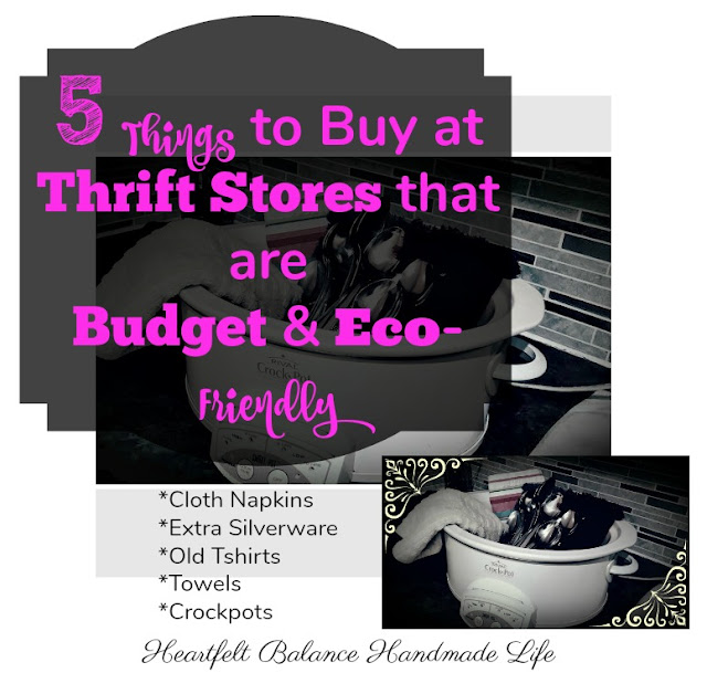 5 Things to Buy at Thrift Stores that are Budget and Eco-Friendly