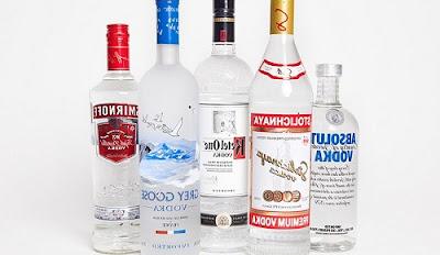 Vodka là linh hồn của người Nga
