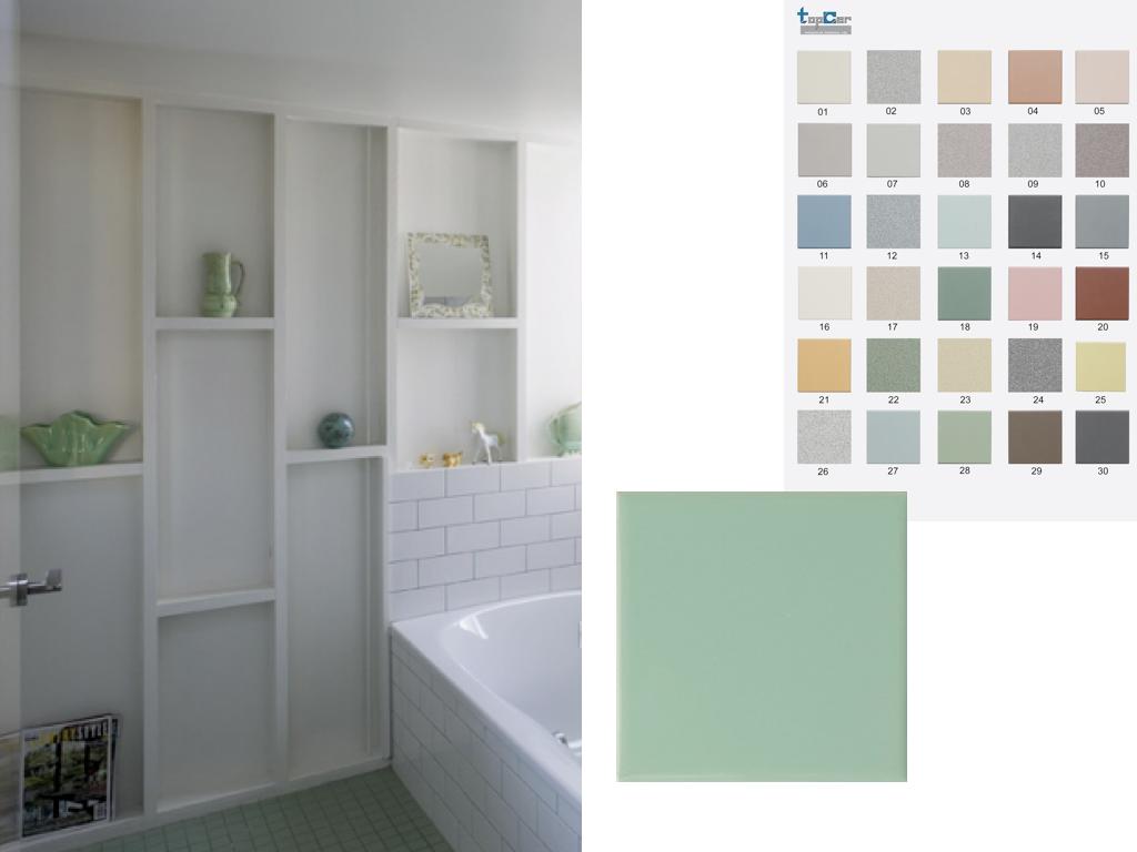 West End Cottage Bathroom Floor Tiles
