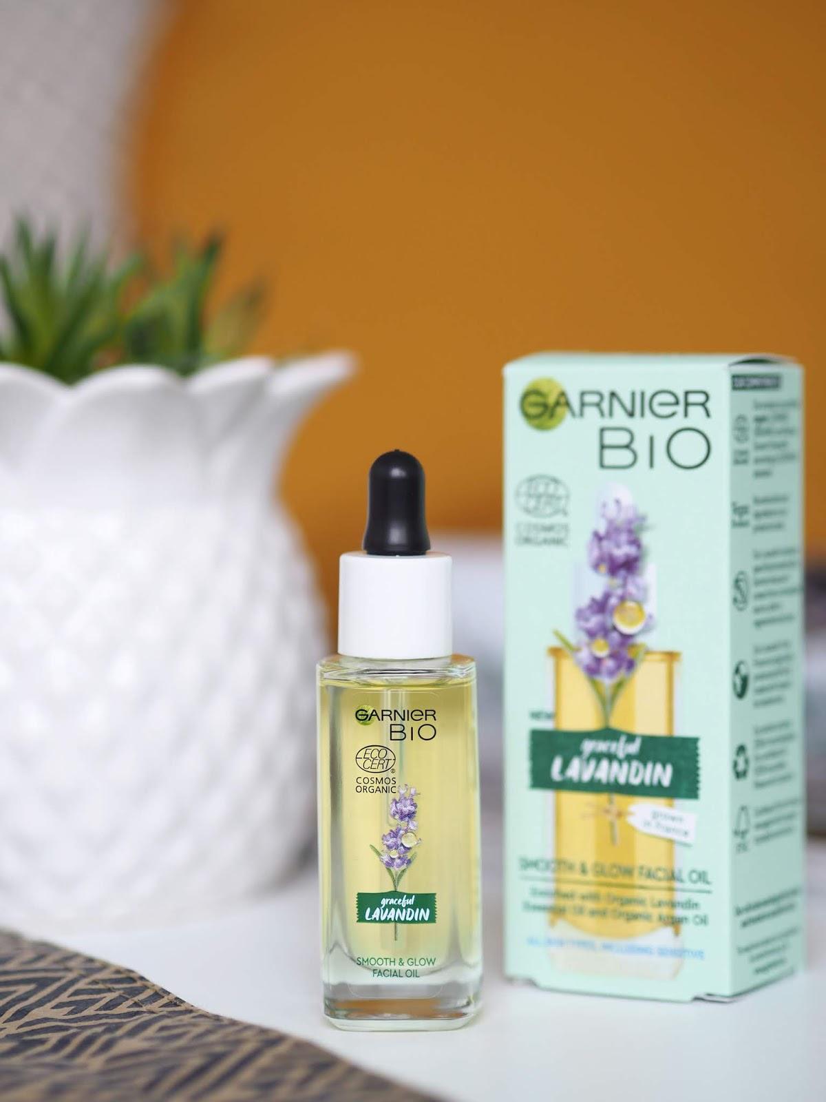 Garnier Bio Graceful Lavandin Facial Oil levanduľový pleťový olej