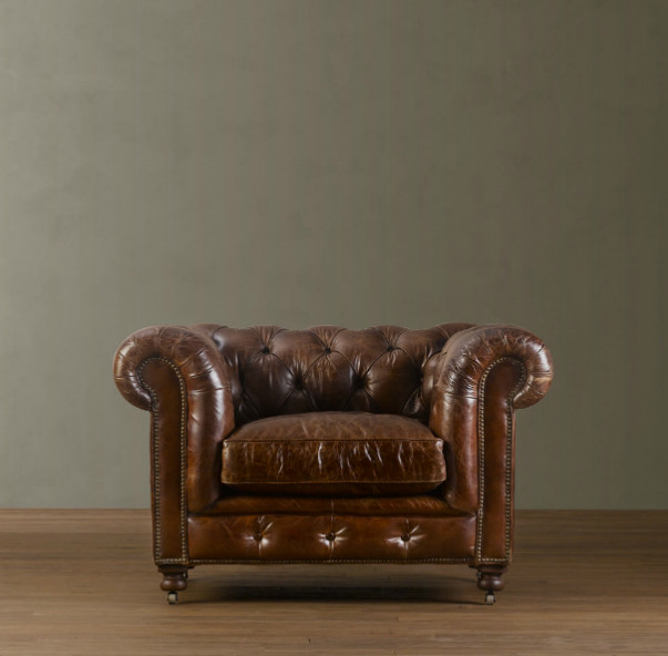 Restoration Hardware Chairs: My Sweet Savannah: ~debating Leather Furniture?~