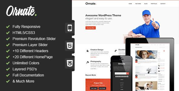 Premium Responsive HTML5 Theme