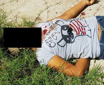 Resultado de imagen para mujer degollada en cotaxtla