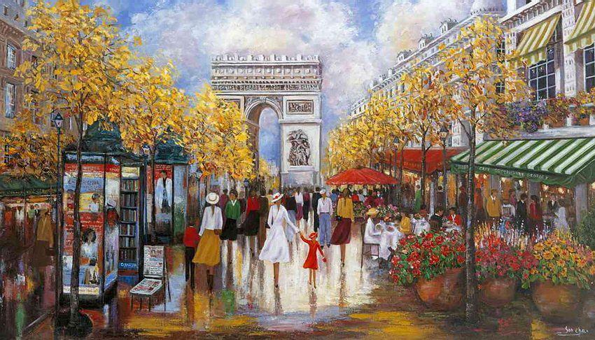 Cha Soo Korean Impressionist Painter Fine Art And You