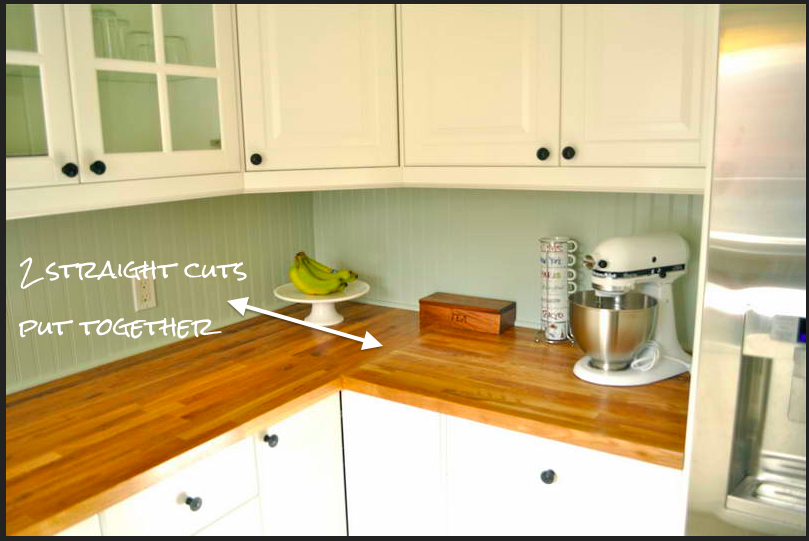 Kitchen Of The Week A Diy Ikea Country Kitchen For Two: DIY Butcher Block Countertops