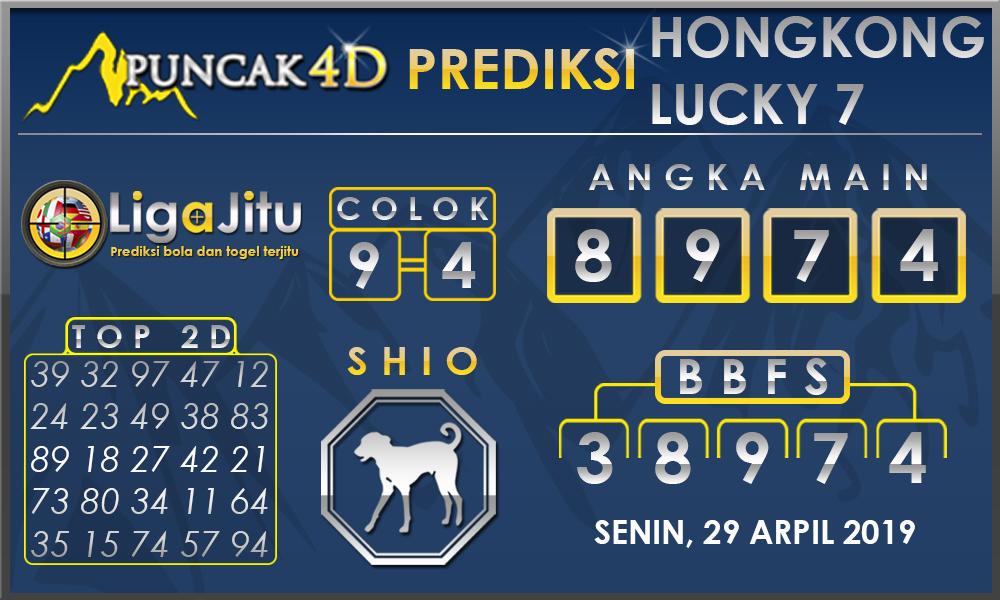 PREDIKSI TOGEL HONGKONG LUCKY7 PUNCAK4D 29 APRIL 2019