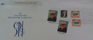 I never knew there had been a re-issue of the infamous Inverted Jenny stamp