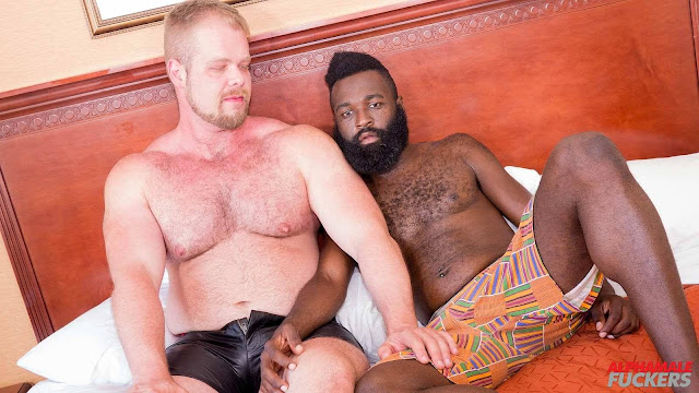Alpha Male Fuckers - Bryan Knight, Anthony Grey and Donte Oxun