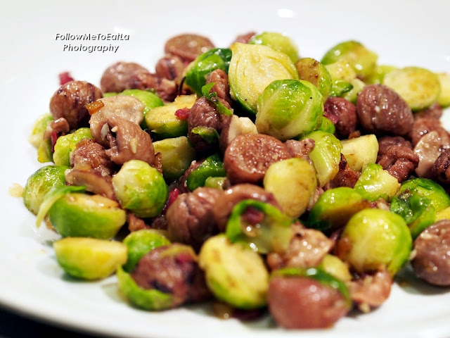 Butter Chestnut Brussels Sprouts
