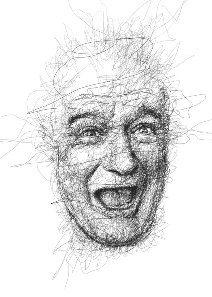 13-Robin-Williams-Vince-Low-Scribble-Drawing-Portraits-Super-Heroes-and-More-www-designstack-co