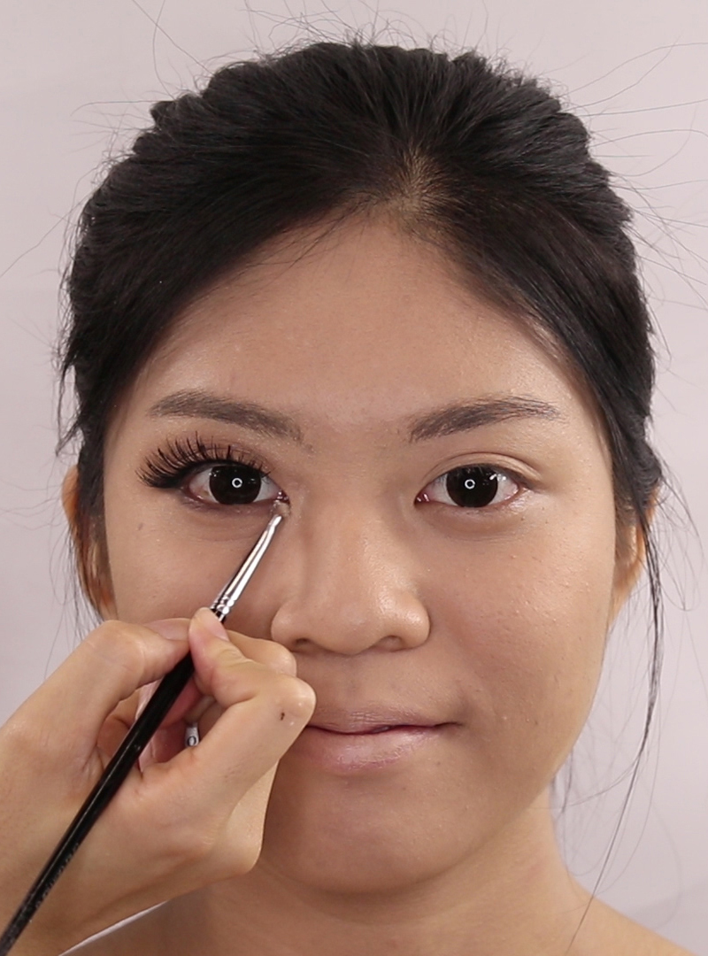 Makeup Transformation Before And After Mysterious Eyes
