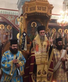Εορτή Ευαγγελισμού της Θεοτόκου στην Ιερά Μητρόπολη Κισάμου και Σελίνου