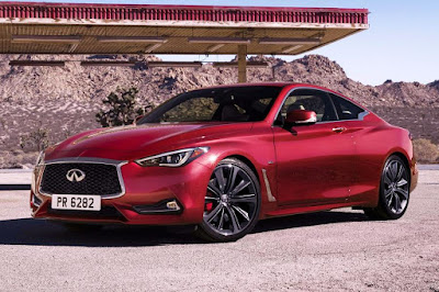 Infiniti Q60 (2017) Front Side