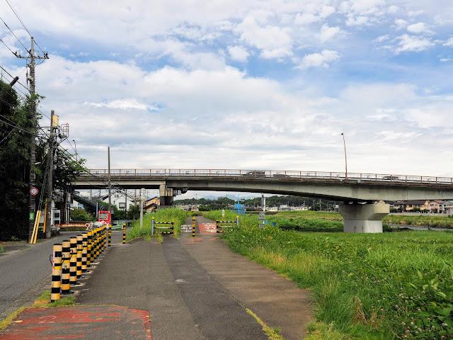 浅川 高幡橋